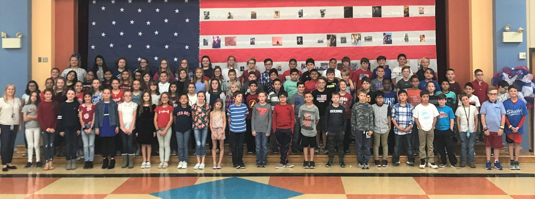 5th Grade Veterans Day Peformance