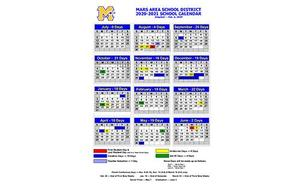 MASD Calendar 2020-2021