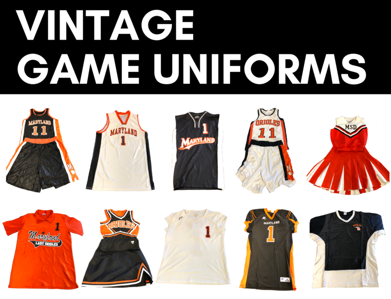 On Sale! Vintage Game Uniforms Featured Photo