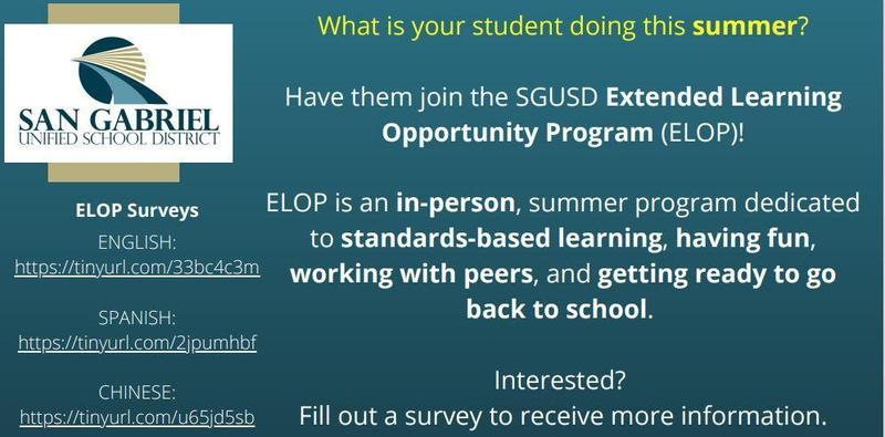 Expanded Learning Opportunity Program