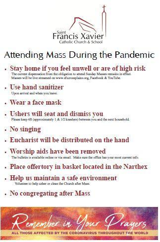 Attending Mass During the Pandemic Thumbnail Image