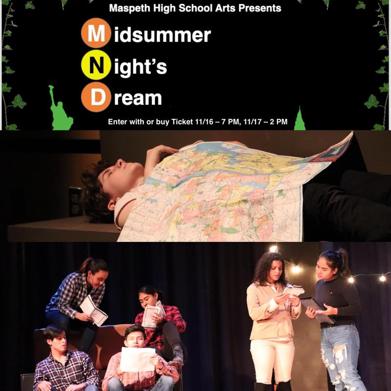 Maspeth High Theater Arts Presents . . . Midsummer Night's Dream Featured Photo