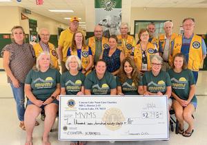 MVMS Lions Donation