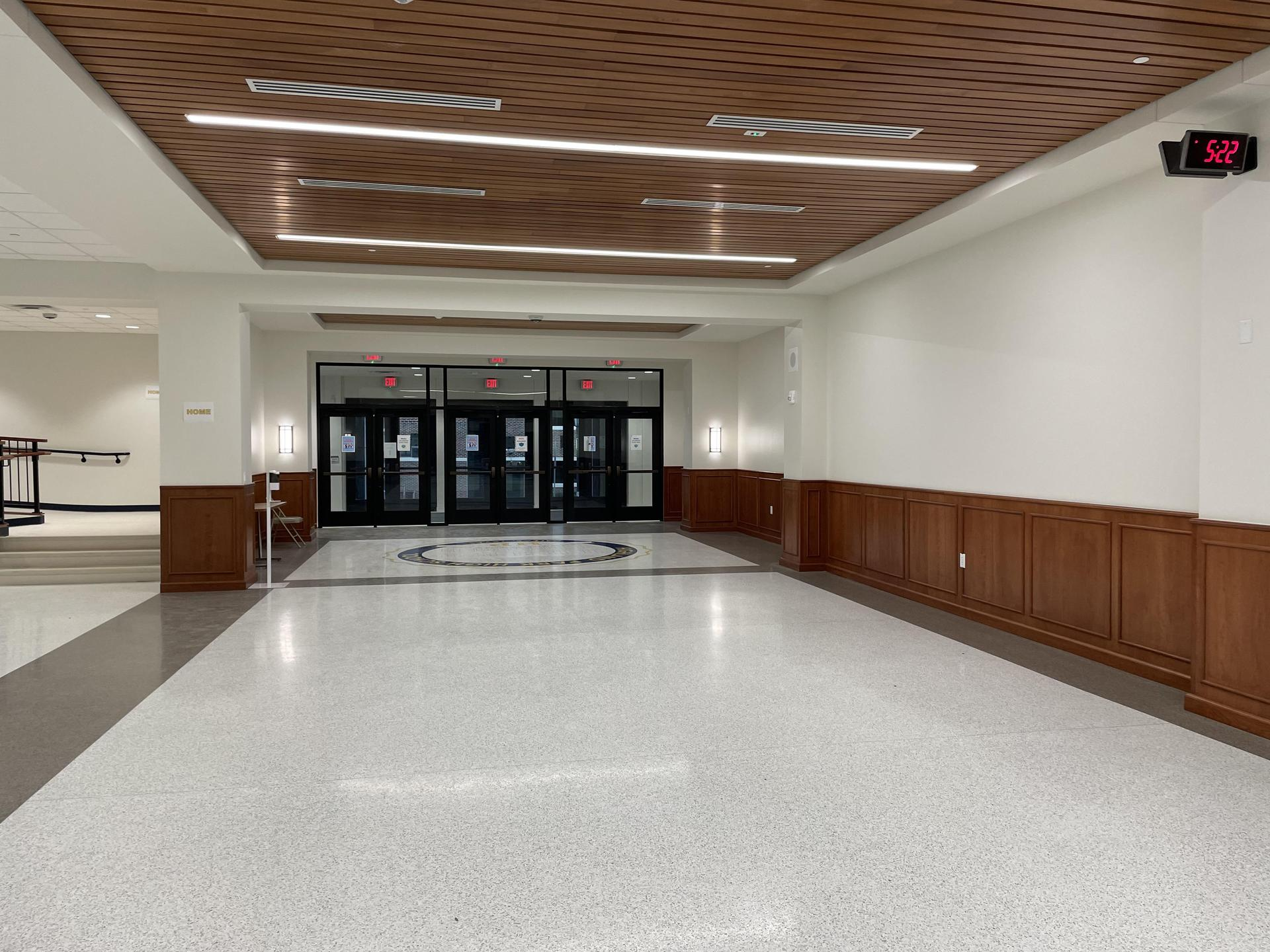 HPHS new entry hallway 1_012221