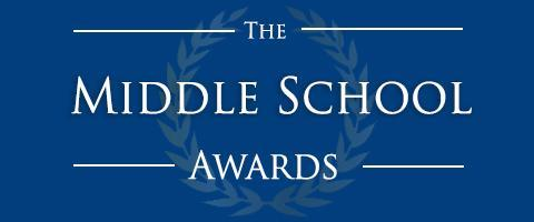 middle school awards graphic