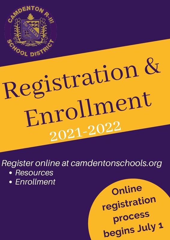 2021-2022 Registration & Enrollment Featured Photo