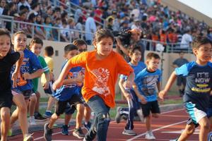 McAllen Kids Marathon Runners
