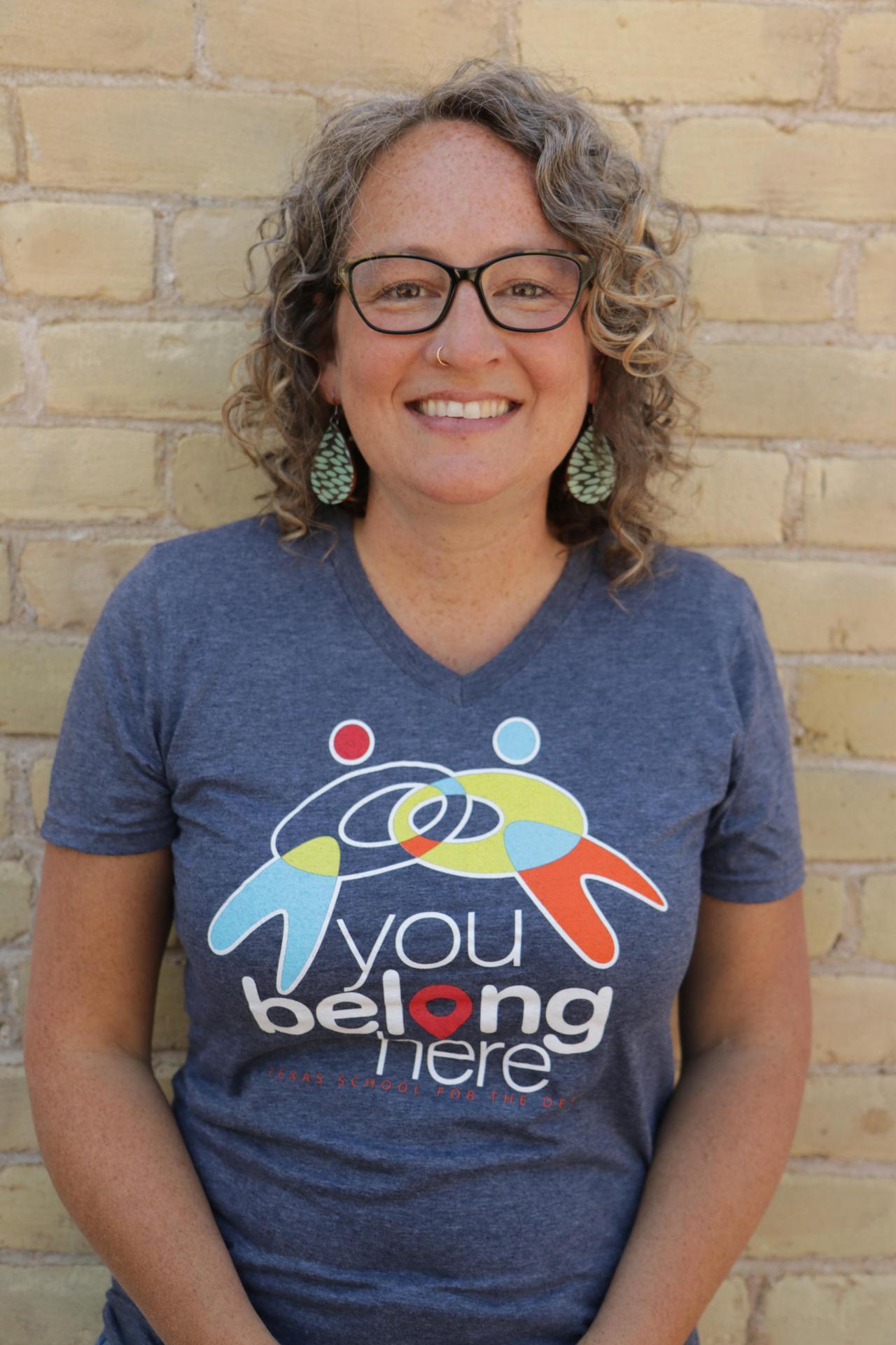 Librarian Leslie Hussey