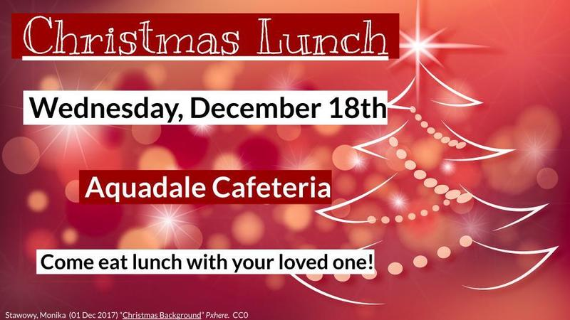 Christmas Lunch Featured Photo