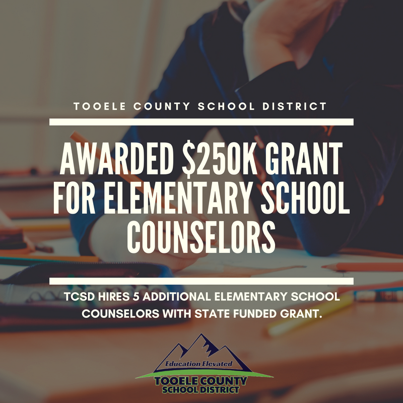 District to hire additional elementary counselors thanks to grant Thumbnail Image