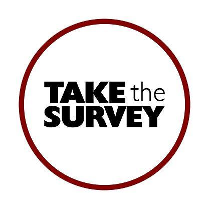 Image that reads Take the Survey