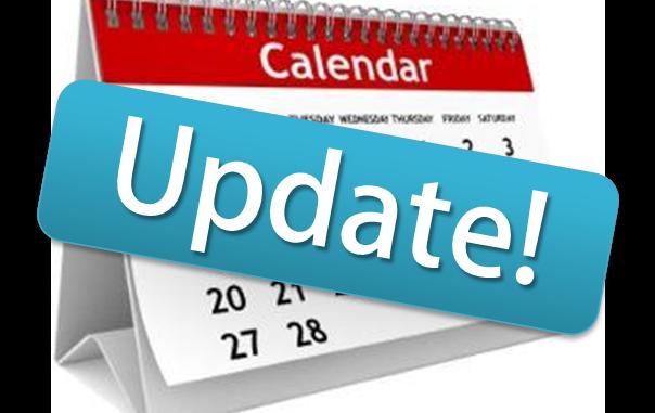 Calendar Update acrossed it
