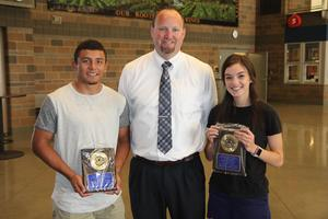 2018 Wapato High School Male & Female Athletes of the Year