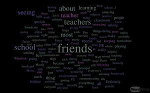Student responses to