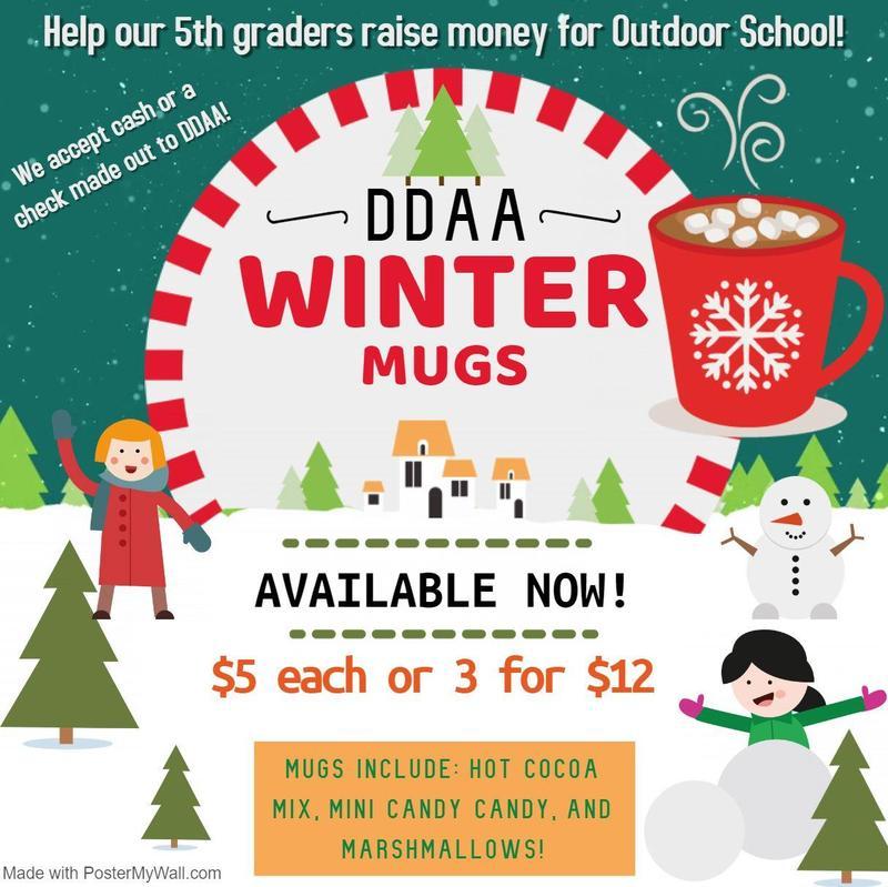5th Grade Winter Mugs for Sale Thumbnail Image