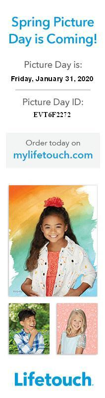 Lifetouch picture day January 31st