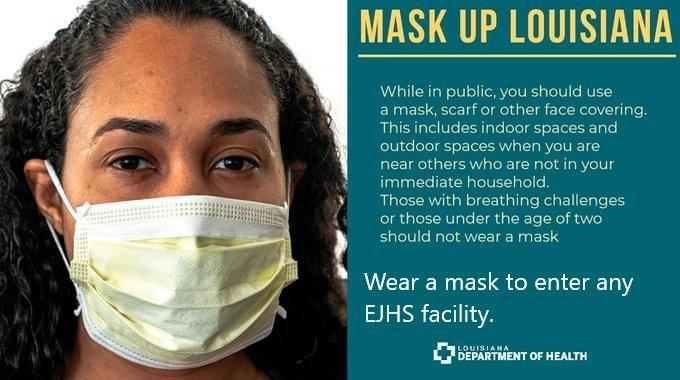 Mask up sign