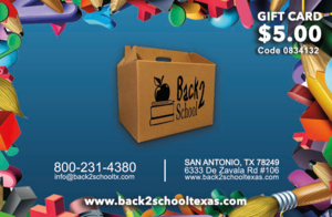 Back2School Texas Coupon