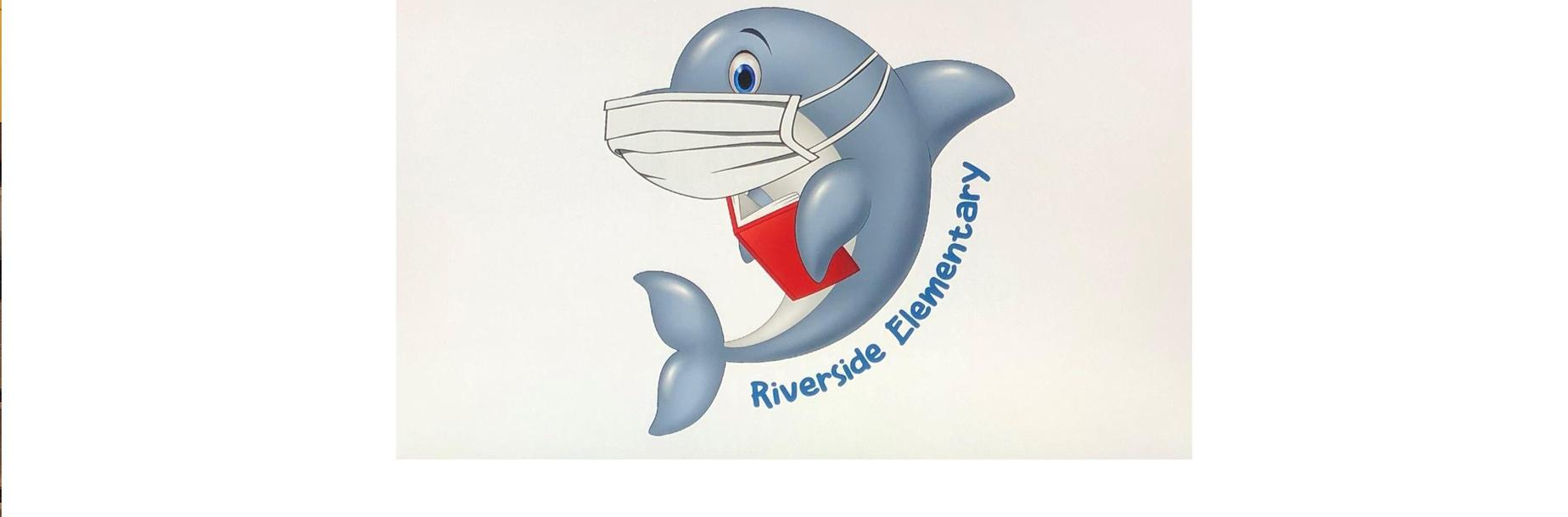 RES Dolphin with a Mask