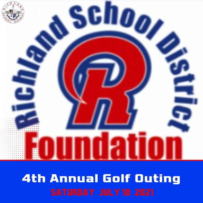 4th Annual Richland School District Foundation Golf Outing is Scheduled for July 10th Featured Photo