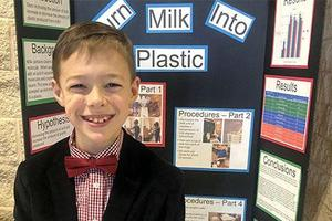 Bennett Elementary Science Fair Winner