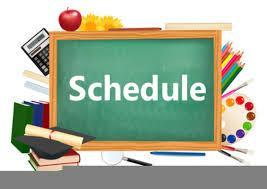 New Instructional Schedule Featured Photo