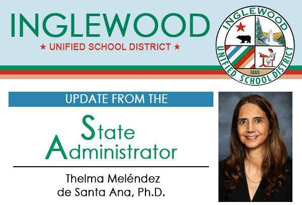 Update from the State Administrator