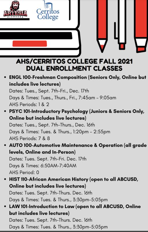 AHS Dual-Enrollment
