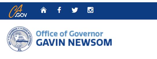 Governor Newsom Logo