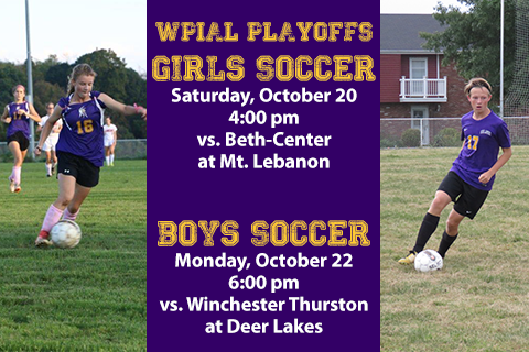 Girls and Boys Soccer Begin WPIAL Playoffs Featured Photo