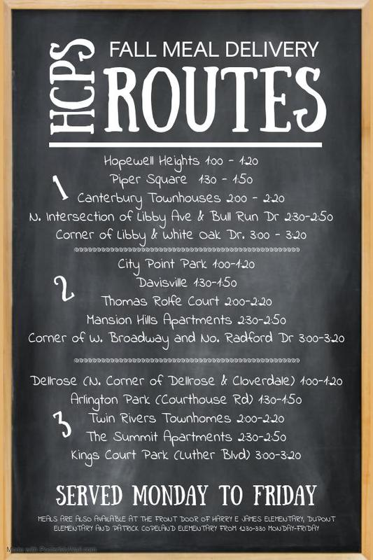 meal routes