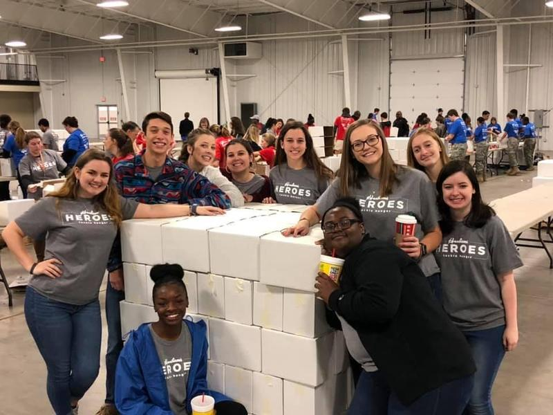 Airport High students at the SC State Fairgrounds