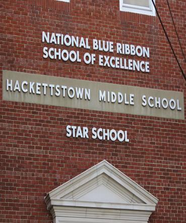 Hackettstown Middle School Blue Ribbon