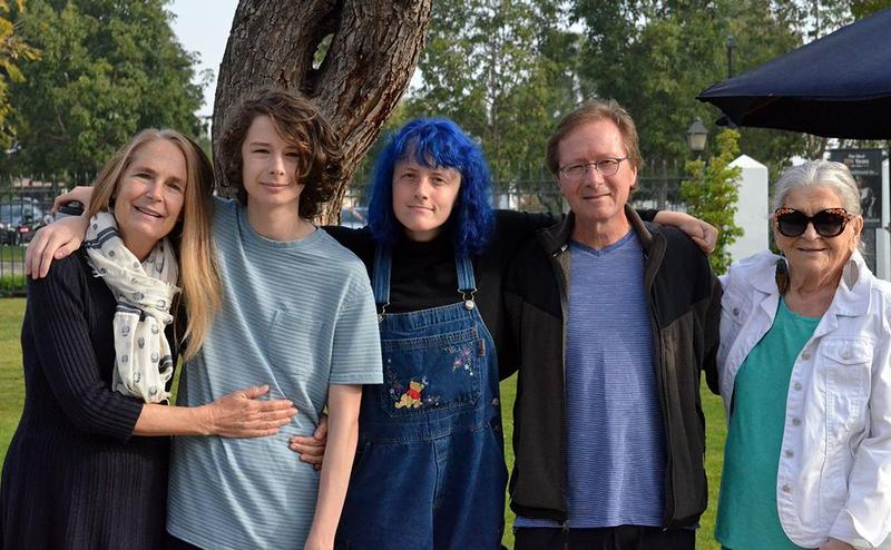 Andy Walker and his family
