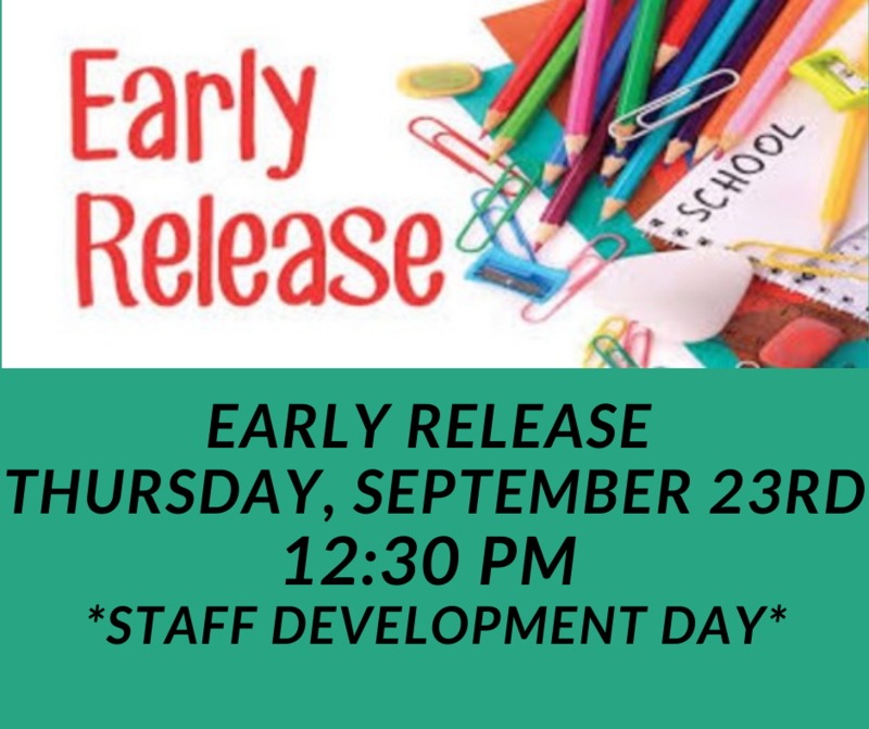 Thursday, September 23rd is Staff Development Day Featured Photo
