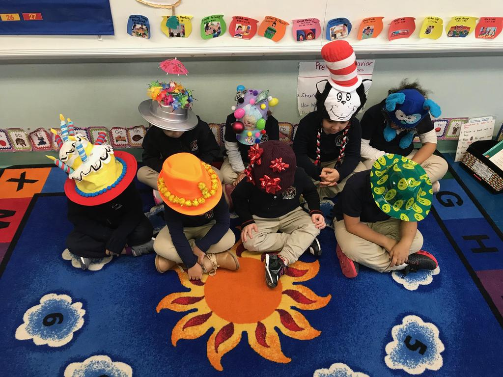 group 1 of crazy hats
