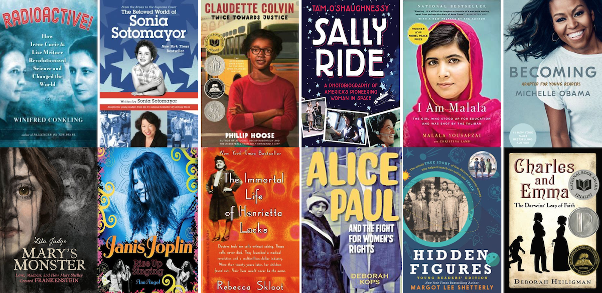 YA Non Fiction for Women's History Month