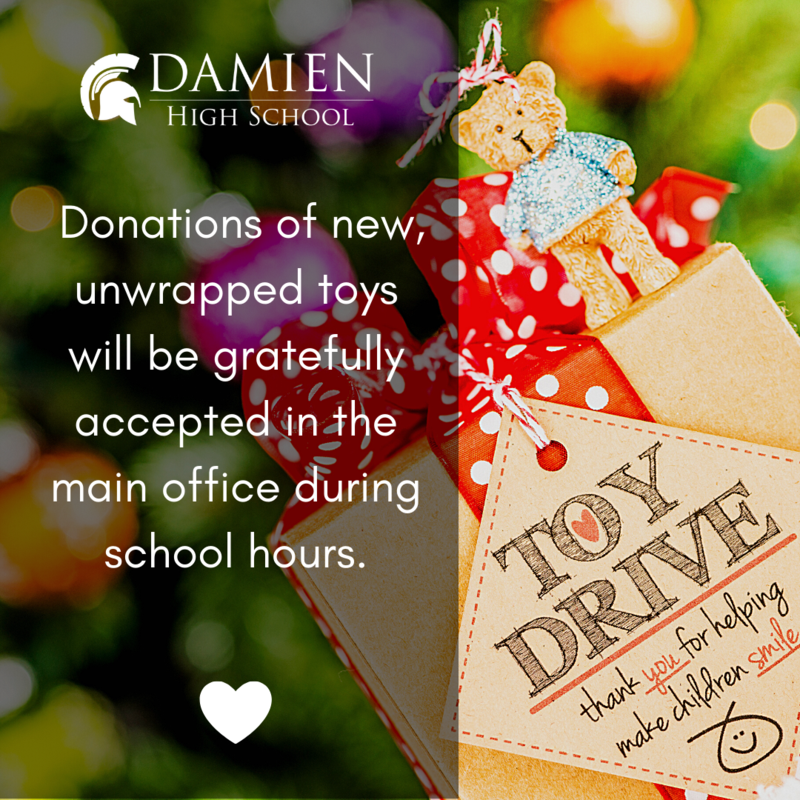 Damien's Annual Toy Drive in support of Megan's Wings Featured Photo