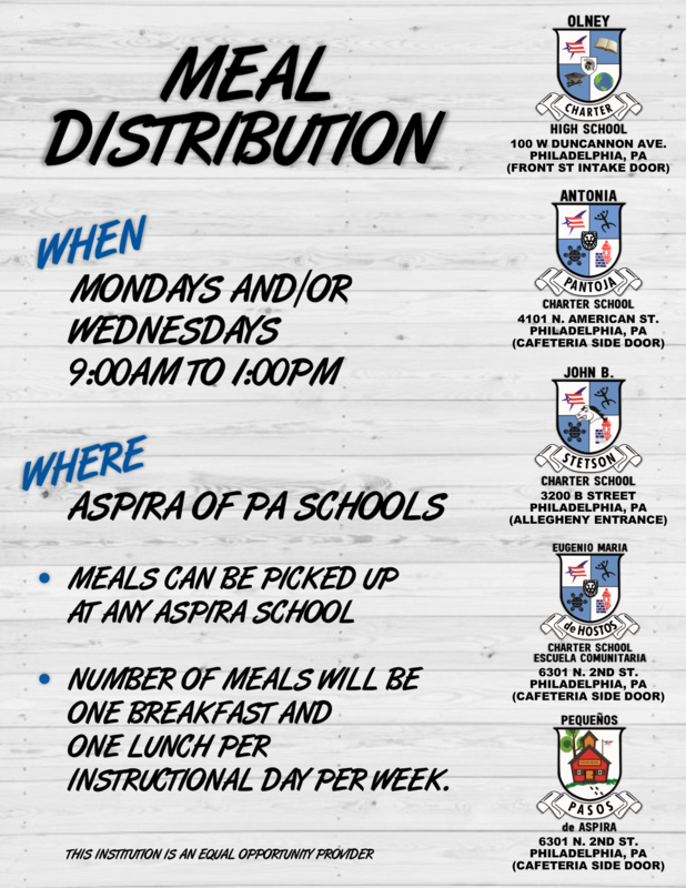 MEAL DISTRIBUTION UPDATE!! Featured Photo