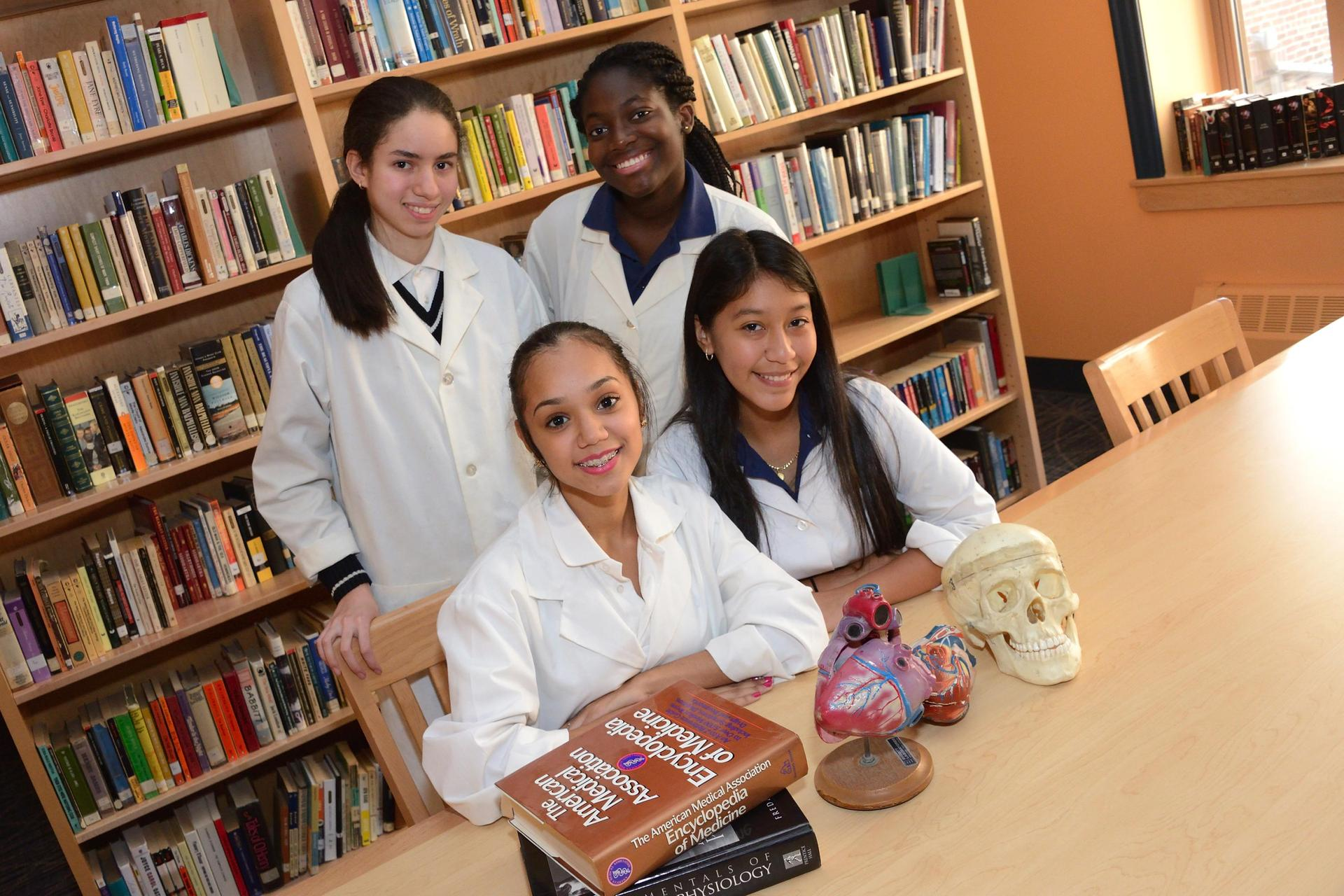 Girls have the chance to learn about science