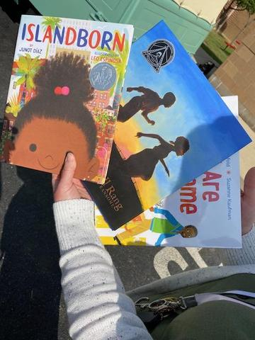 books from book bus