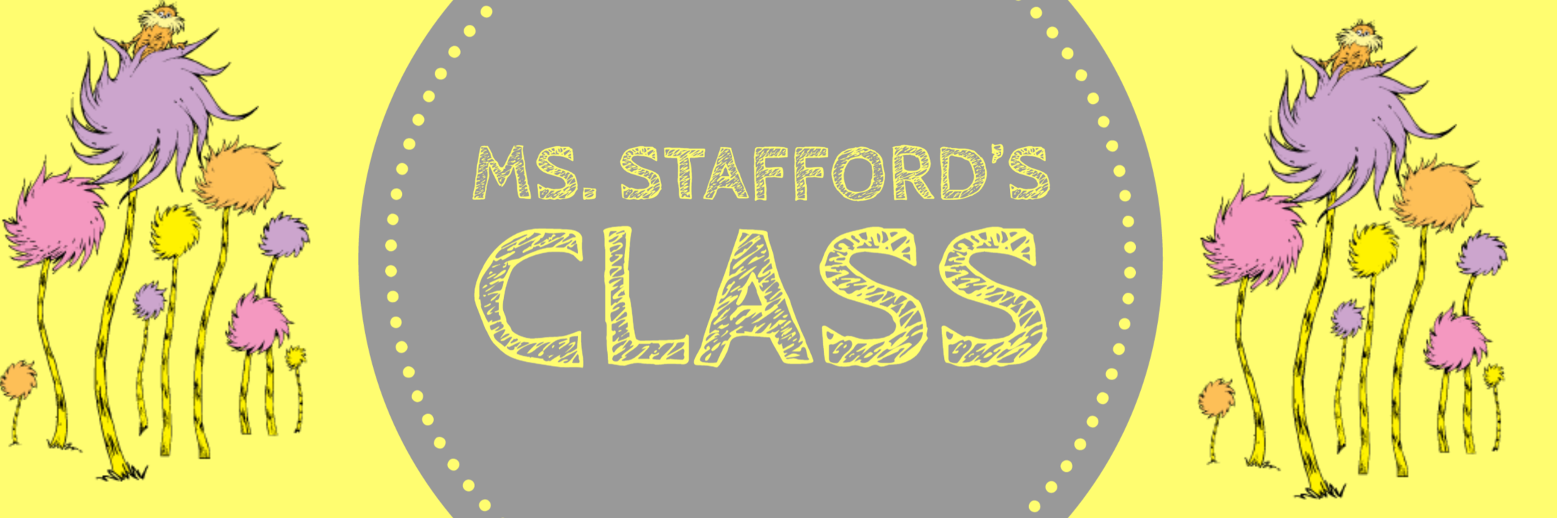 Banner for Ms. Stafford's page
