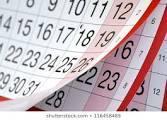 Image fo a calendar