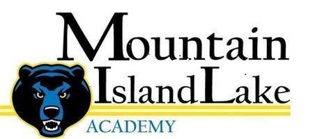 Mountain Island Lake Academy Bear Logo