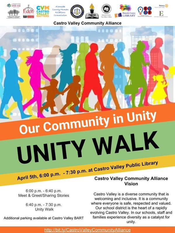 Unity Walk Flyer