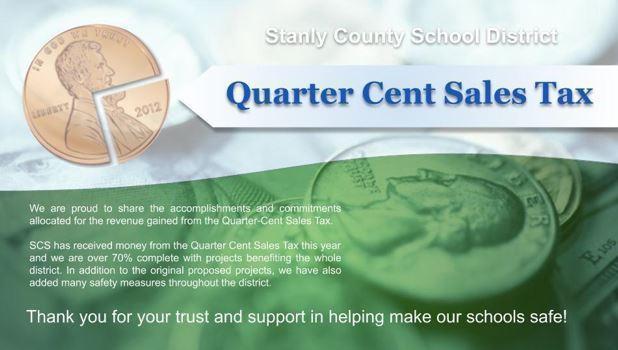 Quarter Cent Sales Tax