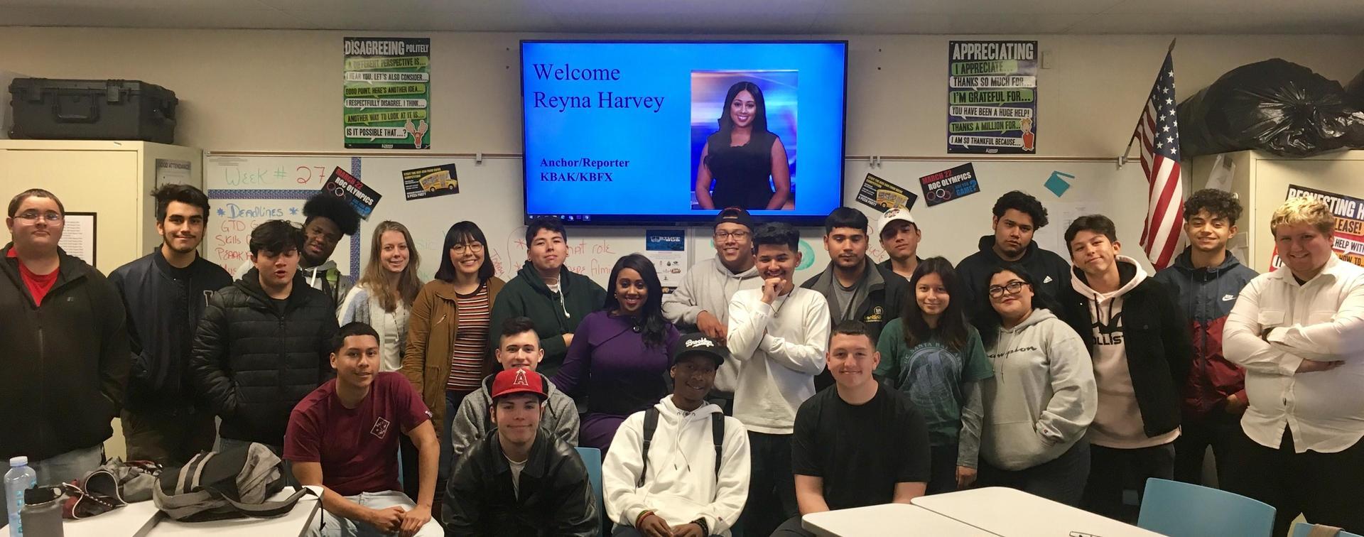 Welcome Reyna Harvey