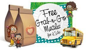 FREE Meals for Children 18 and under Thumbnail Image