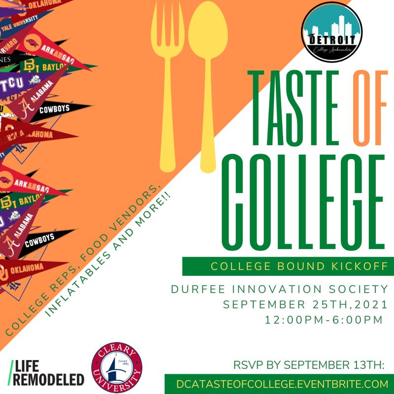 Taste of College image