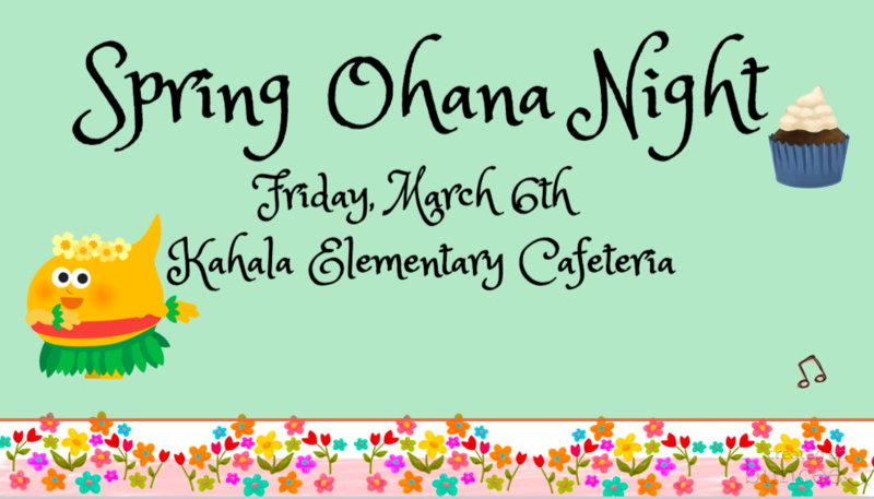 Spring Ohana Night Featured Photo